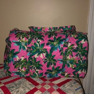 Vera Bradley Large Duffel In Tropical Paradise